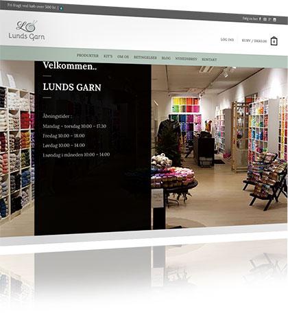 Lunds Garn webshop