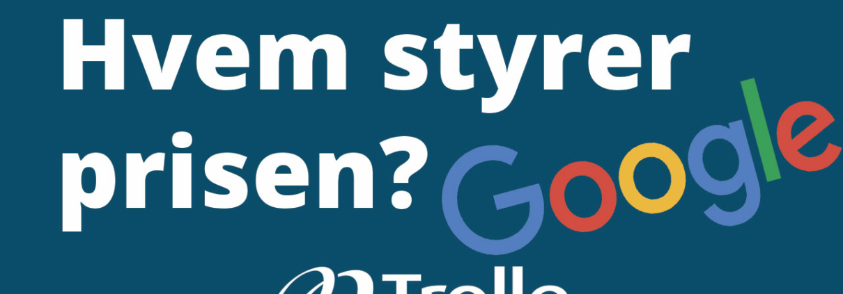 Hvem bestemmer prisen på Google Ads / Adwords?