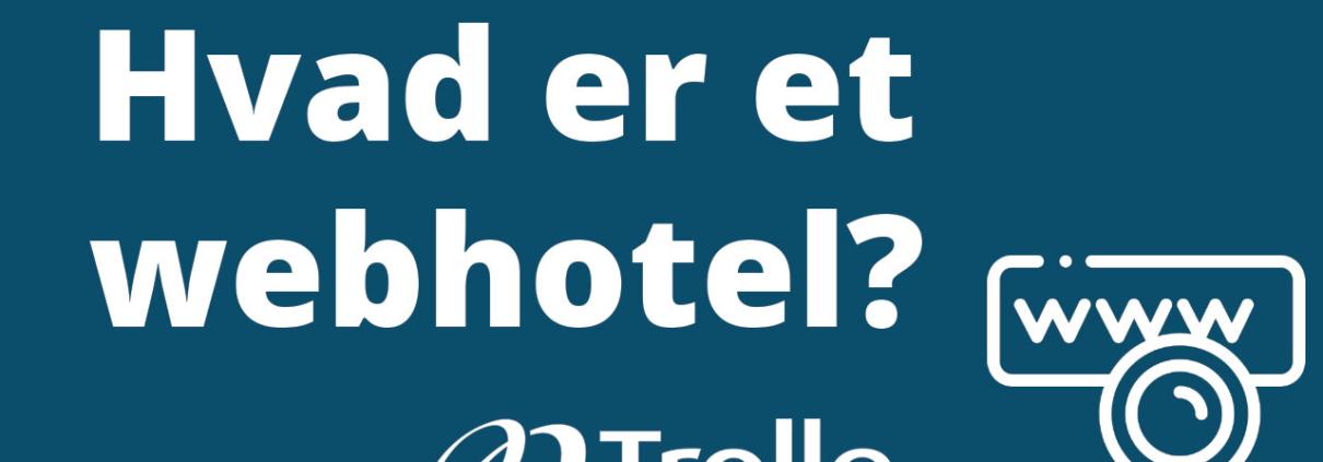 Hvad er et webhotel