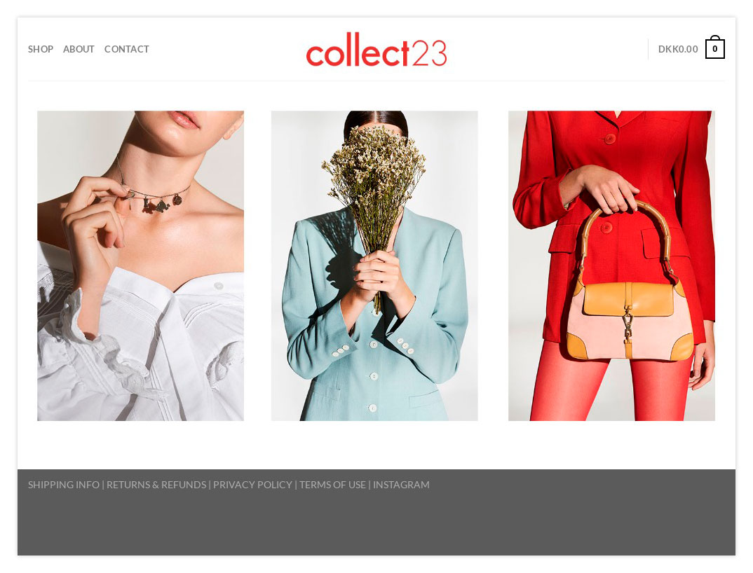Webshop Collect23