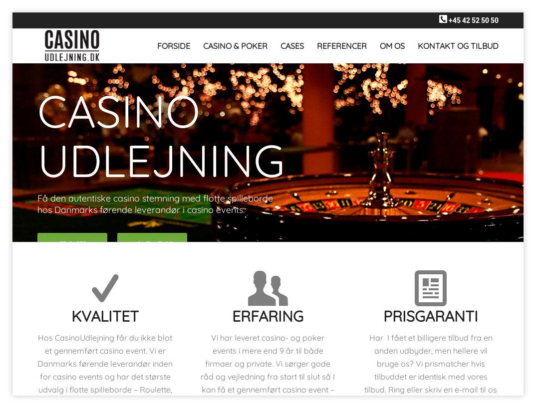 Hjemmeside til CasinoGuiden