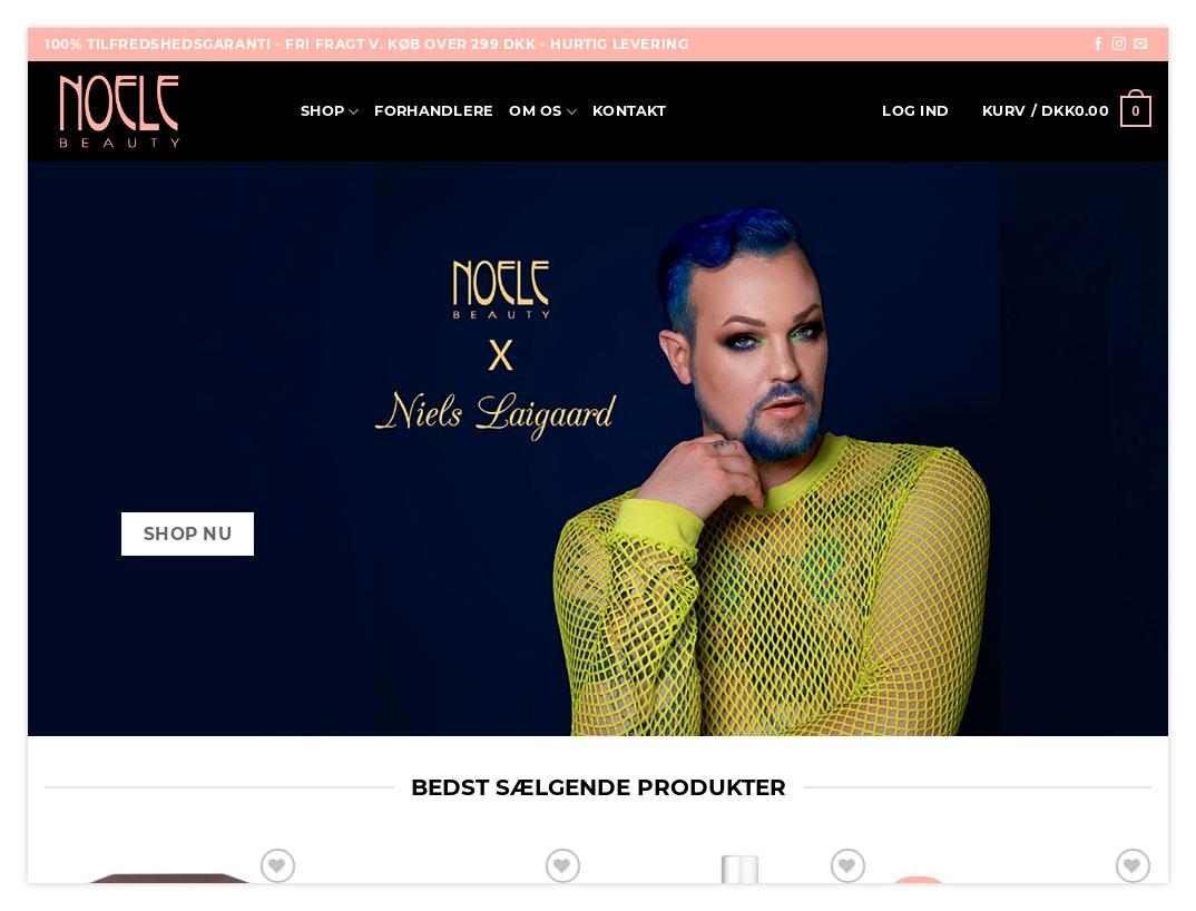 Noele Beauty Webshop